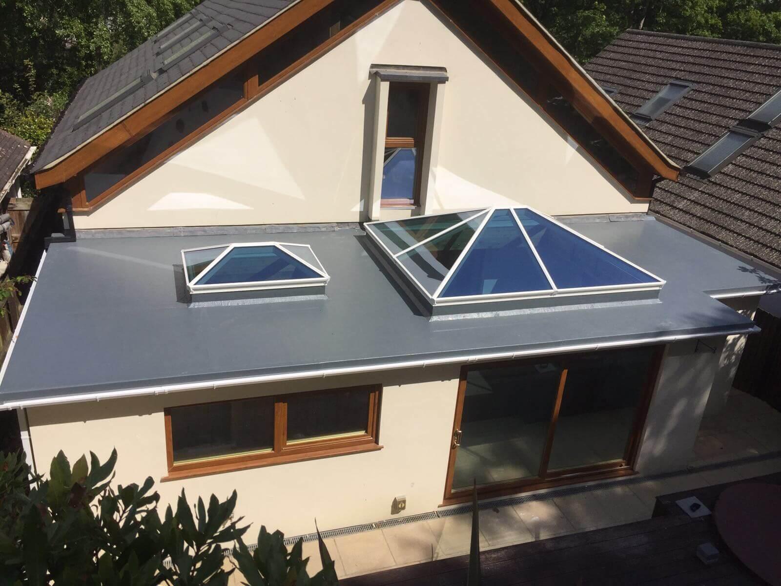 Flat Lantern Roofs Bournemouth