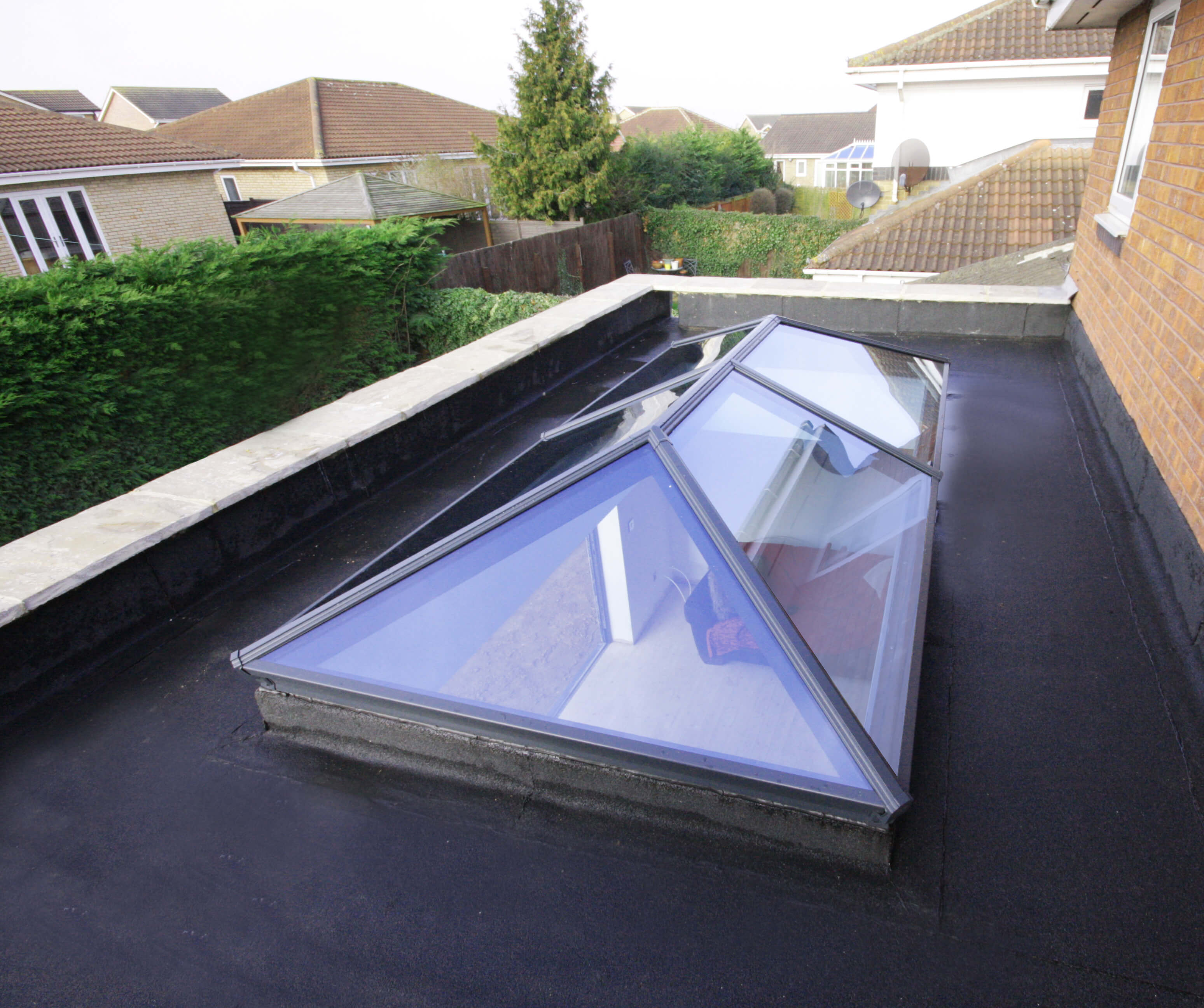 Slim Aluminium Roof Lantern Bournemouth