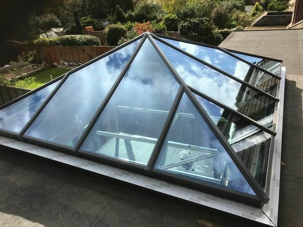 Korniche Pyramid Lantern Roof Bournemouth