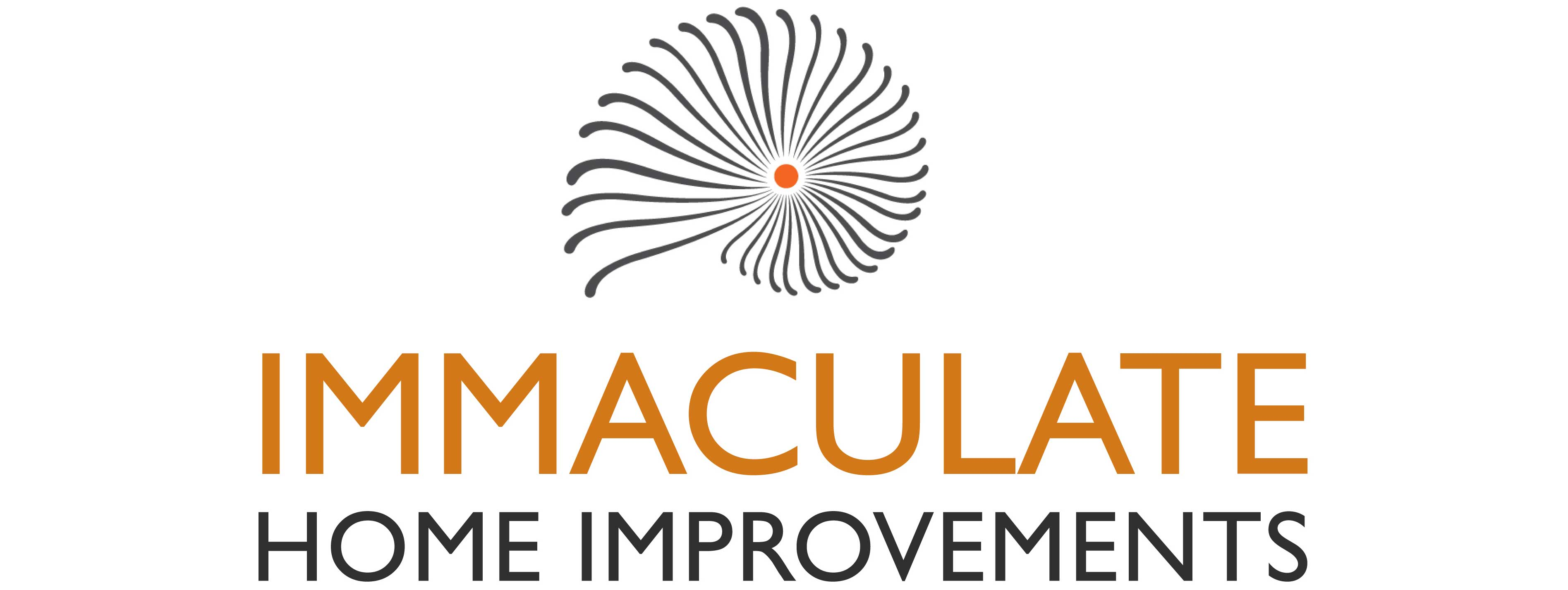 immaculate home improvements logo